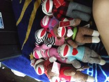 Sock monkey collection in Baytown, Texas