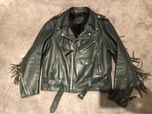 Vintage leather jacket by Branded Garments inc size 48 in Naperville, Illinois