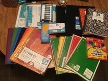 School supply lot in Baytown, Texas