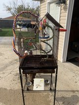 Bird cage with stand in Orland Park, Illinois
