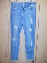 Junior Refuge Distressed Jeans (T=45) in Fort Campbell, Kentucky