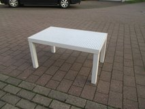 white coffee table in Ramstein, Germany