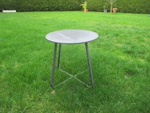 small metal table in Ramstein, Germany