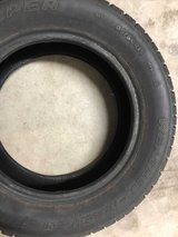Set of 4 studded tires. Like new. 205/60R15 in Fort Lewis, Washington