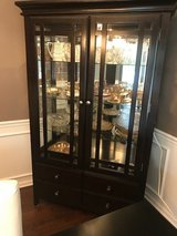 China Cabinet with Light (contents not included) in Aurora, Illinois