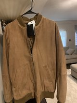 Men's Suede Coat Size Lg Brand New with Tags in Spring, Texas