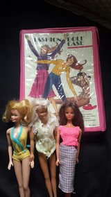 vintage barbies and barbie fashion case in Joliet, Illinois