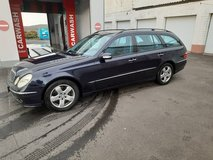 2005 Mercedes E Class automatic diesel wagon in Spangdahlem, Germany