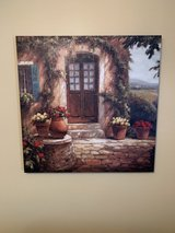 Tuscan canvas picture in The Woodlands, Texas
