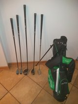 Jr. Clubs and bag in Plainfield, Illinois