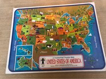 2 US Map Puzzles in Bartlett, Illinois
