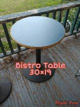 bistro tables in Fort Riley, Kansas