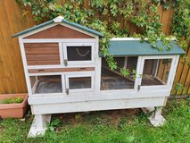 Chicken coop in Lakenheath, UK