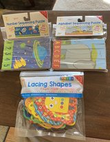 Sequencing Puzzles/Lacing Shapes in Batavia, Illinois