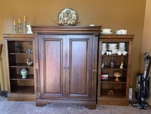Entertainment Center and Book Cases in Plainfield, Illinois