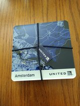 New United Airline Lucite Coasters in Kingwood, Texas