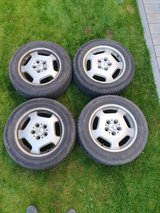 4 tires with alloy wheels in good condition in Ramstein, Germany