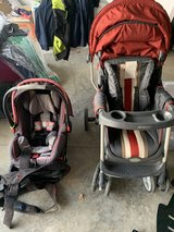 Stroller and car seat in Fort Campbell, Kentucky