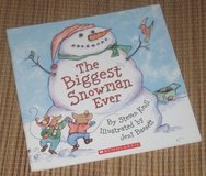 The Biggest Snowman Ever Soft Cover Book in Morris, Illinois