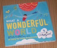 What a Wonderful World Over Sized Hard Cover Book w Dust Jacket in Morris, Illinois