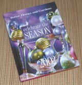 2002 Better Homes and Gardens Celebrate The Season Hard Cover Book Christmas Holiday in Morris, Illinois