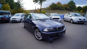 BMW 318Ci 2002, dark blue, manual drive, perfect winter car in Ramstein, Germany