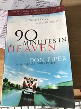90 Minutes in Heaven by Don Piper with Cecil Murphey in Wilmington, North Carolina