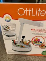 OttLite Craft Hobby Desk Top Light  with organizing tray in Sandwich, Illinois