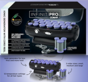New! Conair InfinitiPro Ionic 20 Ceramic Flocked Hot Rollers / Curler Set in Wheaton, Illinois