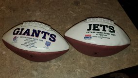 NFL Sports Team Collectors Championship Footballs in Fort Bliss, Texas