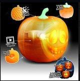 Halloween Flash Talking Animated LED Pumpkin Toy Projection Lamp for Home Party Lantern Decor Pr... in Cambridge, UK