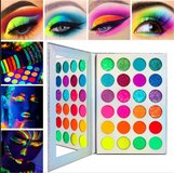 Neon Glitter Eyeshadow Palette Makeup in Cambridge, UK