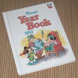 Vintage 1992 Disney Year Book Hard Cover in Bolingbrook, Illinois