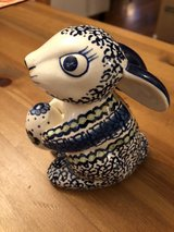 polish pottery bunny in Fort Belvoir, Virginia