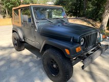 Jeep Wrangler TJ in Camp Lejeune, North Carolina