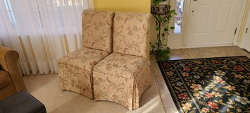 2 Home Goods Upholstered Cushioned Dining Room Chairs in Naperville, Illinois