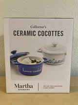 Martha Stewart Ceramic Cocottes in Cleveland, Texas