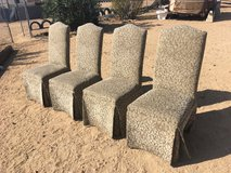 High Back Vintage Chairs in Yucca Valley, California