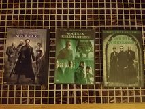 Matrix Trilogy DVDs in Naperville, Illinois