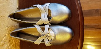 Brand New Pewter Colored Shoes in Oswego, Illinois
