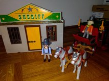 Playmobil Western City portable + Western coach in Stuttgart, GE