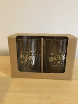 Enjoy and Cheers glasses in Cleveland, Texas