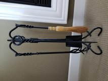 5-Piece Fireplace Tool Set with Ring & Swirl Handles in Fairfield, California