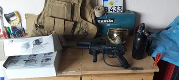 paintball  tippman a5 and mask in Ramstein, Germany