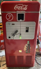 Coke Machine  1950's in Kingwood, Texas