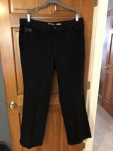 Style & Co Black Jeans with Rhinestone Pockets - Women Size 18W - Like New in St. Charles, Illinois