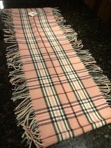 Brand New Pink Plaid Scarf in Bolingbrook, Illinois