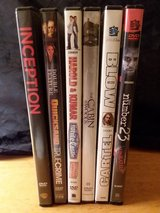 6 DVD's in Cherry Point, North Carolina