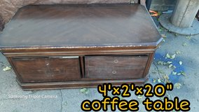 large Ashley Furniture coffee table in Manhattan, Kansas