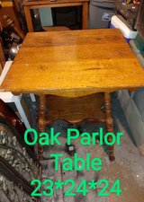 antique oak Parlor Table in Manhattan, Kansas